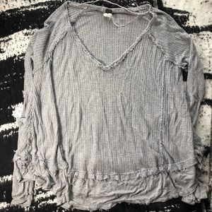 Boho long sleeve thermal tee by We the Free